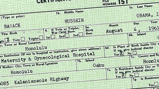 kansas republicans: we need to see obama's birth certificate - cbs news