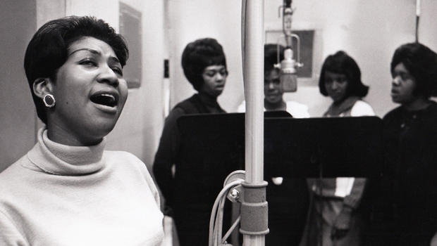 Aretha Franklin, Sweet Inspirations