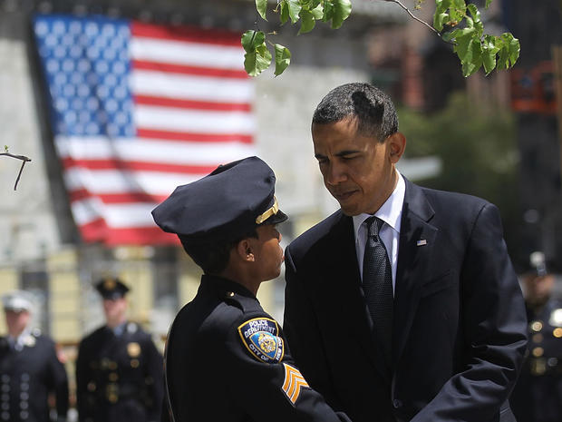President Obama at ground zero