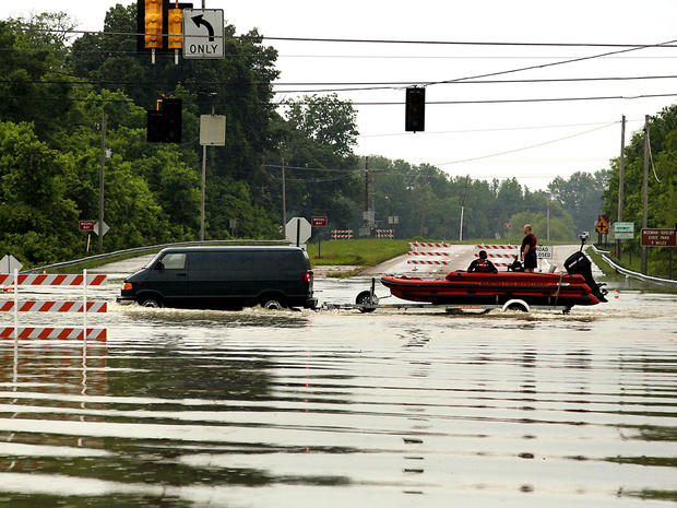 Mississippi River flooding in Memphis