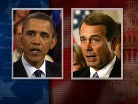 Barack Obama and John Boehner