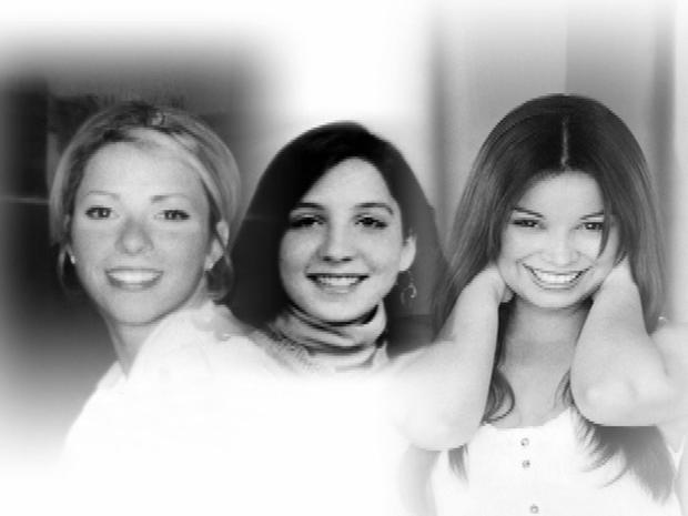 Ashley Ellerin, left, Tricia Pacaccio, center, and Maria Bruno.