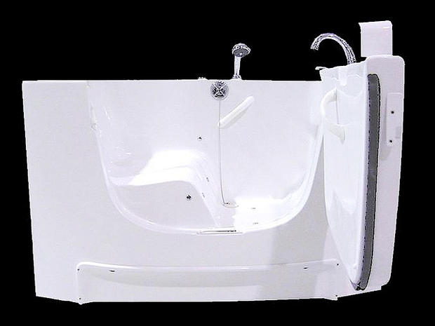 Walk In Tub   Living Large? 31 Ginormous Goods For Plus Size People    Pictures   CBS News
