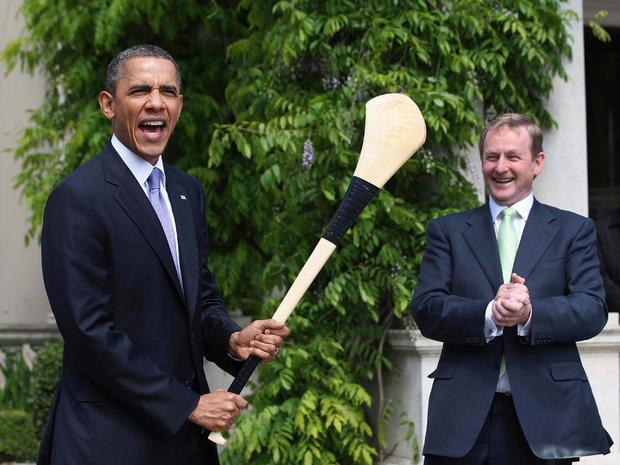 Obamas visit Ireland
