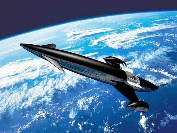 Space plane of tomorrow