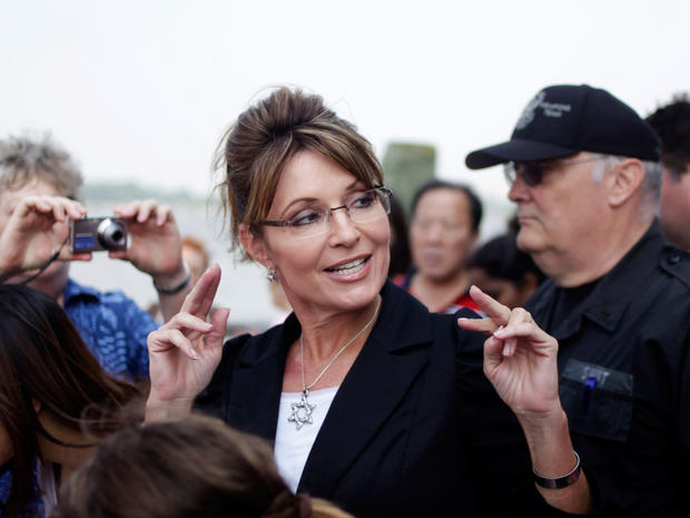 Sarah Palin on the road