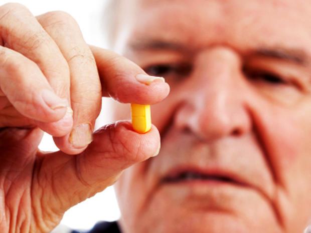 Pills and a Pill Bottle.