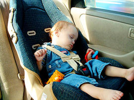 baby, car seat, car, sleeping, stock, 4x3