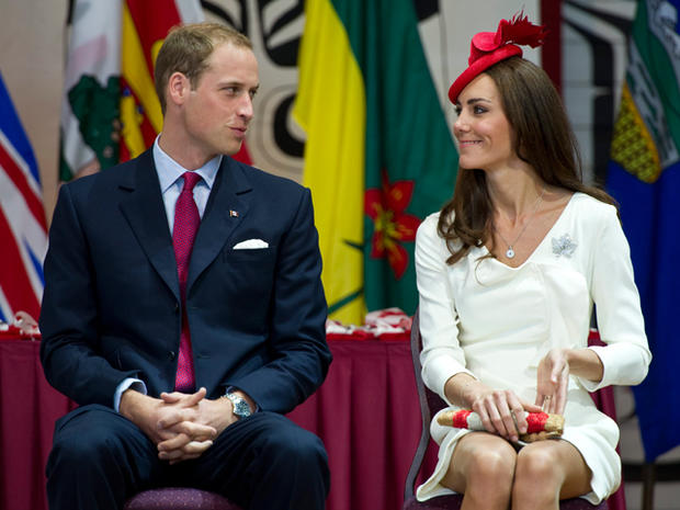 William and Kate celebrate Canada Day