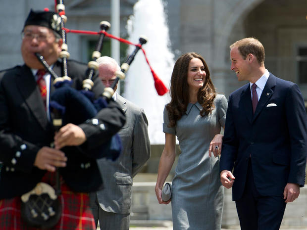 Prince William and Kate continue Canada tour