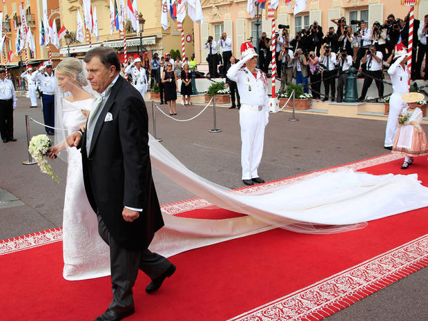 Monaco's royal wedding: The religious ceremony