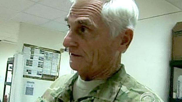 Dr. John Burson, a 76-year-old Army medic