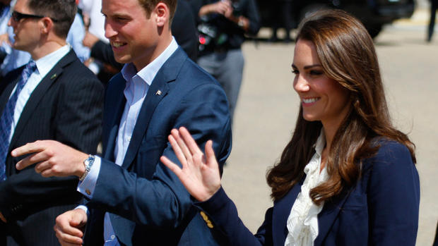 William and Kate in Alberta