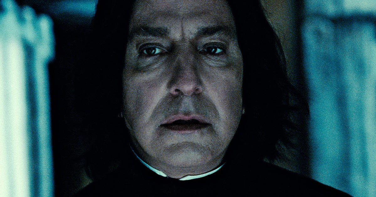 Severus Snape Voted Greatest Harry Potter Character Cbs News