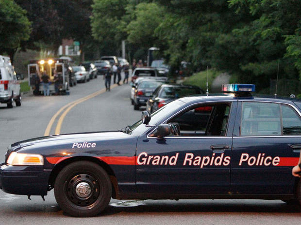 Grand Rapids shooting spree leaves 7 dead, plus shooter