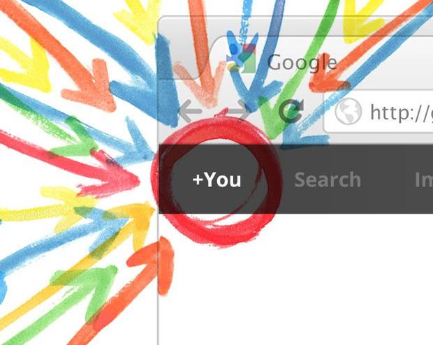 Google+ promo graphic
