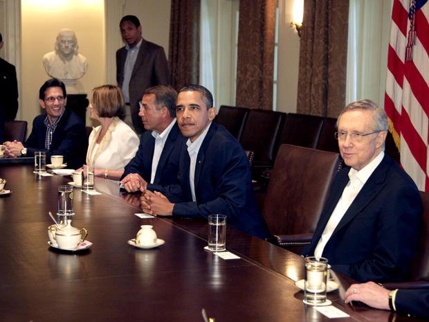 Meeting on debt ceiling