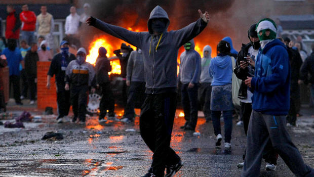 Image result for nationalist riots in ireland