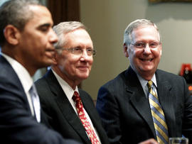 Obama, Reid, McConnell
