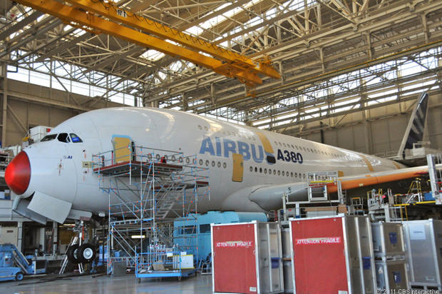 Assembling the Airbus A380