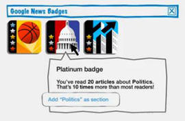 screenshot of Google video about Google Badges