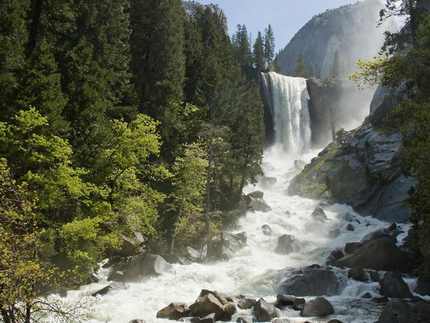 Vernal Falls Yosemite Park