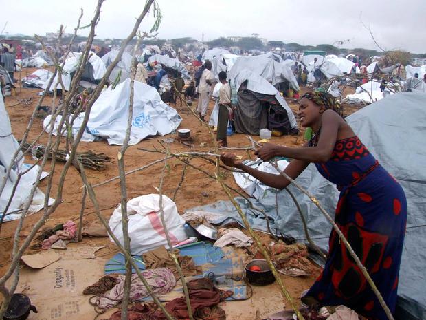 Famine grips Somalia