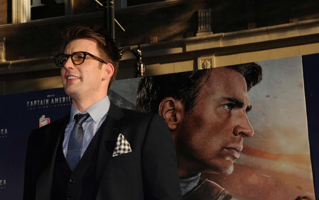 Chris Evans at the El Capitan Theatre on July 19, 2011 in Hollywood