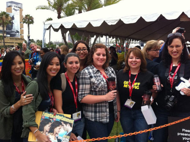 Twitpics! What you're missing at Comic-Con