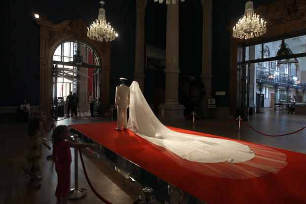 Monaco royal wedding exhibit