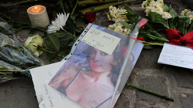 The death of Amy Winehouse