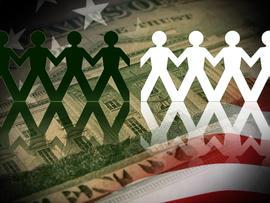 Wealth gap between whites, minorities widens