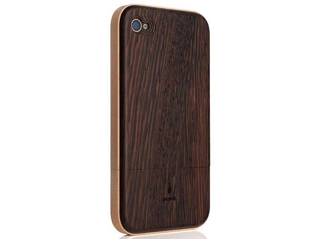 Iphone Se Case Natural Wood Case White White Ebony