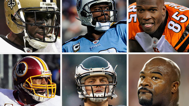 NFL moves: Familiar faces, new places