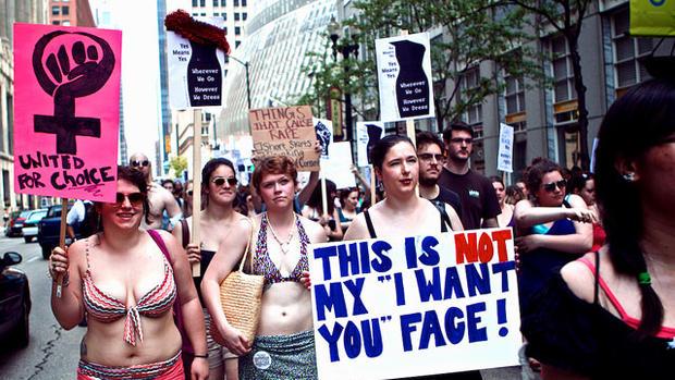 """SlutWalkers"" vs. sex abuse: 19 provocative photos"