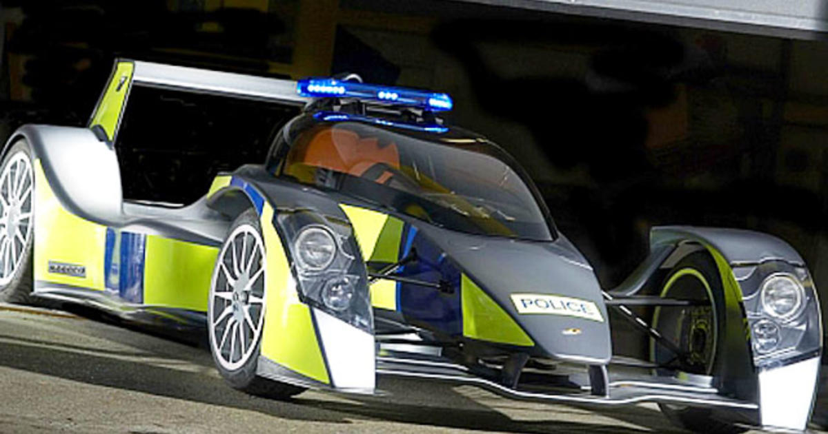 Top 10 Coolest Cop Cars Photo 1 Pictures Cbs News