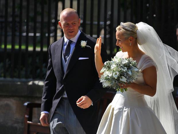 Zara Phillips and Mike Tindall's late-night royal wedding ...