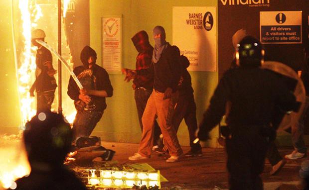 Riots in the U.K.