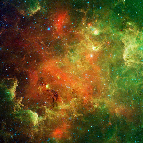 Nebulae Rorschach test: Do you see what I see?