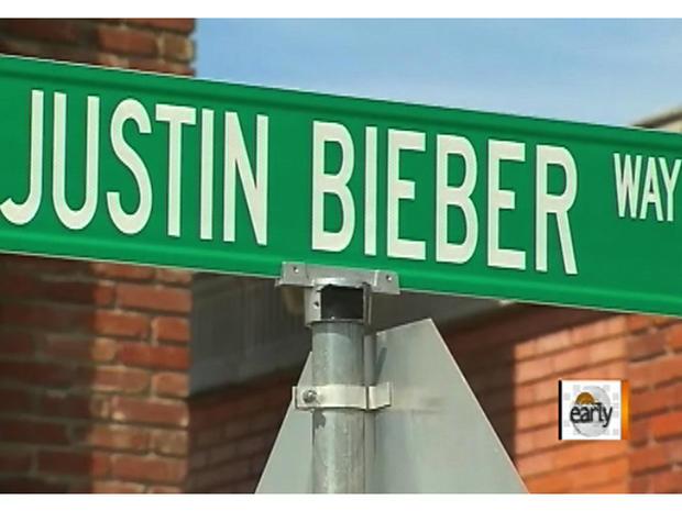 """Justin Bieber Way"" street sign stolen in Texas"