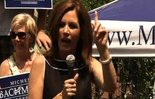 """Bachmann: I'm """"Hombre-ette"""" to fight for you"""