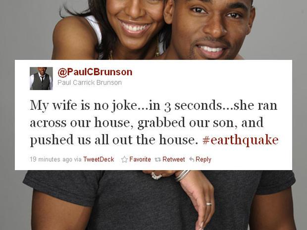 New York City tweeters react to Virginia earthquake tremors