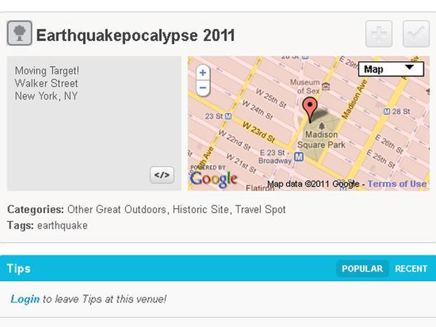 """East Coast earthquake """"devastation"""" photos"""