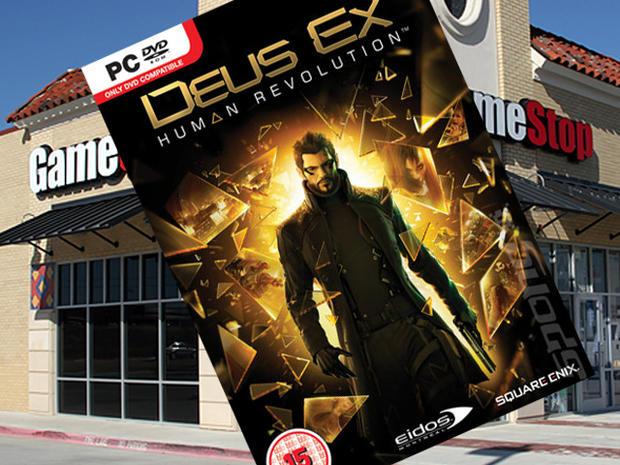 deus ex: human revolution, gamestop