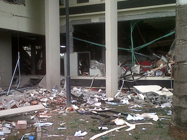 Bomb hits Nigeria U.N. office