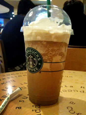 12 Starbucks Java Chip Frappuccino Chilly Calories 12