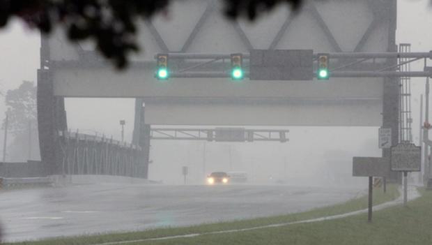 Hurricane Irene makes landfall