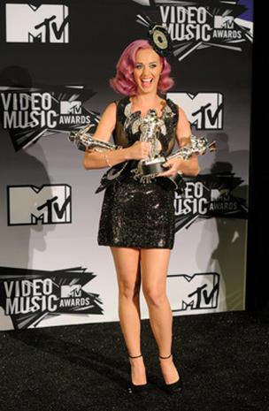 2011 VMAs press room