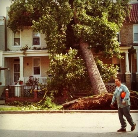 Incredible Hurricane Irene Instagrams
