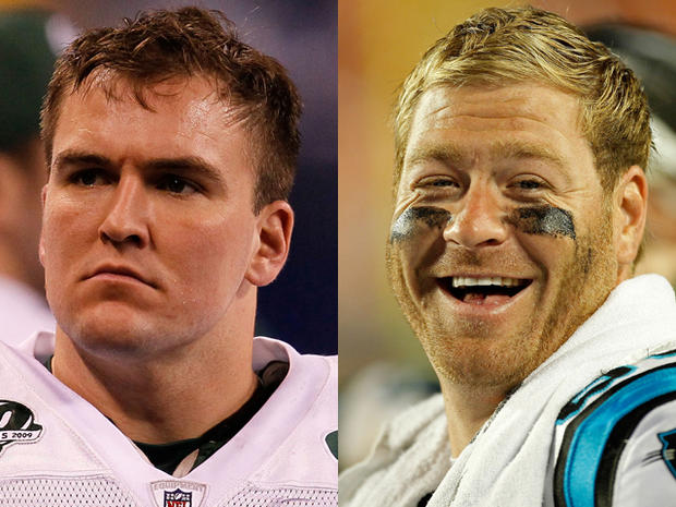 Ben Hartsock and Jeremy Shockey